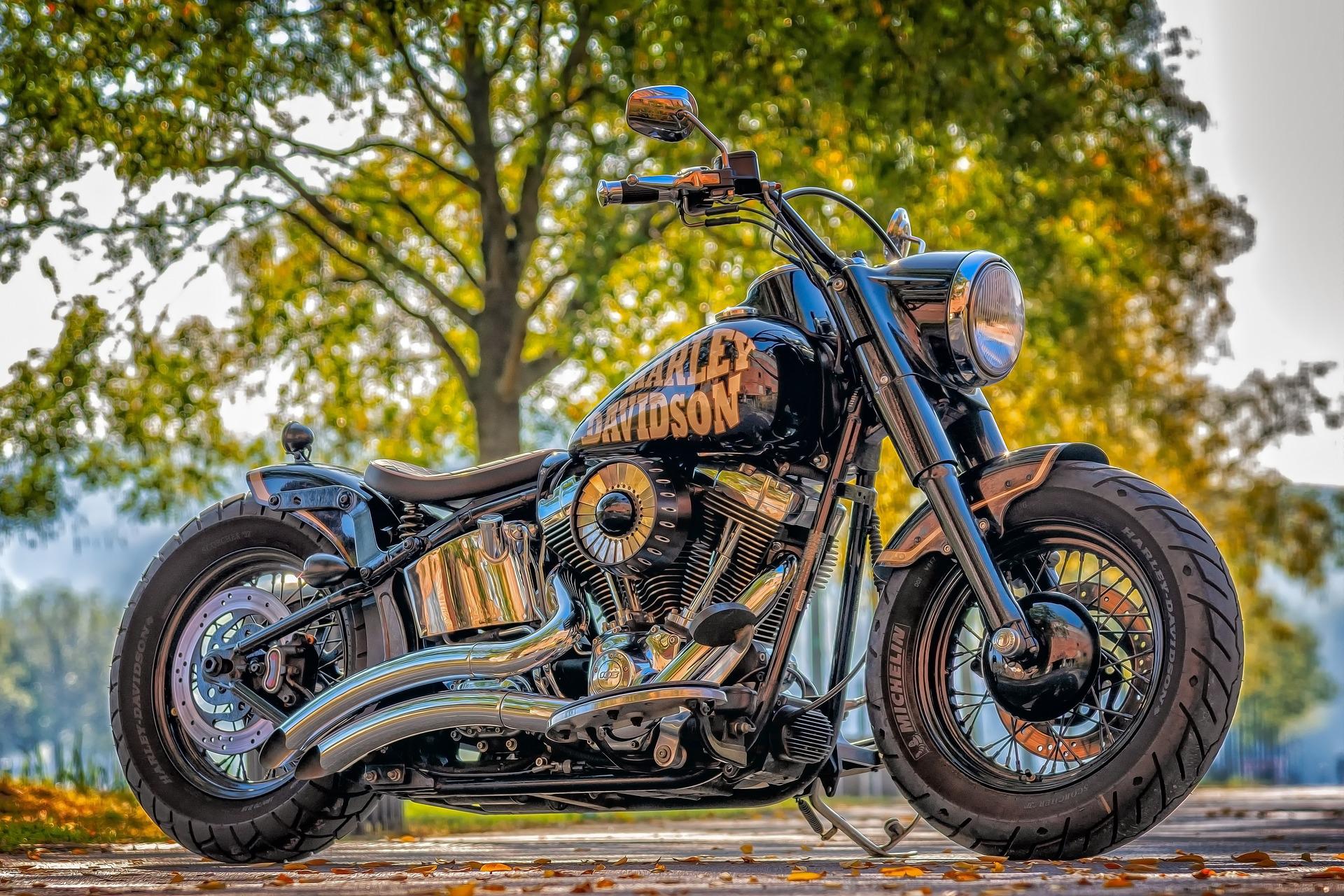 Mit der Harley über die Road 66